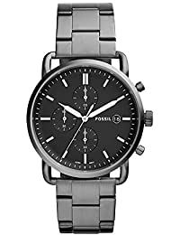 Men's 'The Commuter' Quartz Stainless Steel Casual Watch, Color:Grey (Model: FS5400)