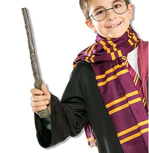 [Harry Potter Wand Accessory (9704)] (Harry Potter Fancy Dress Costumes)