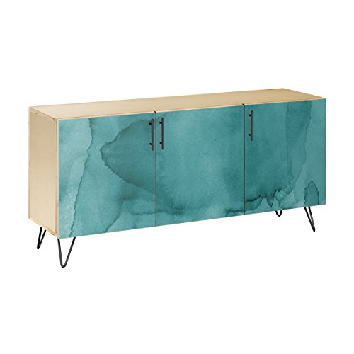 Nye Koncept 13004010 Pacific Waters Hairpin Sideboard44; Natural & Black from Nye Koncept