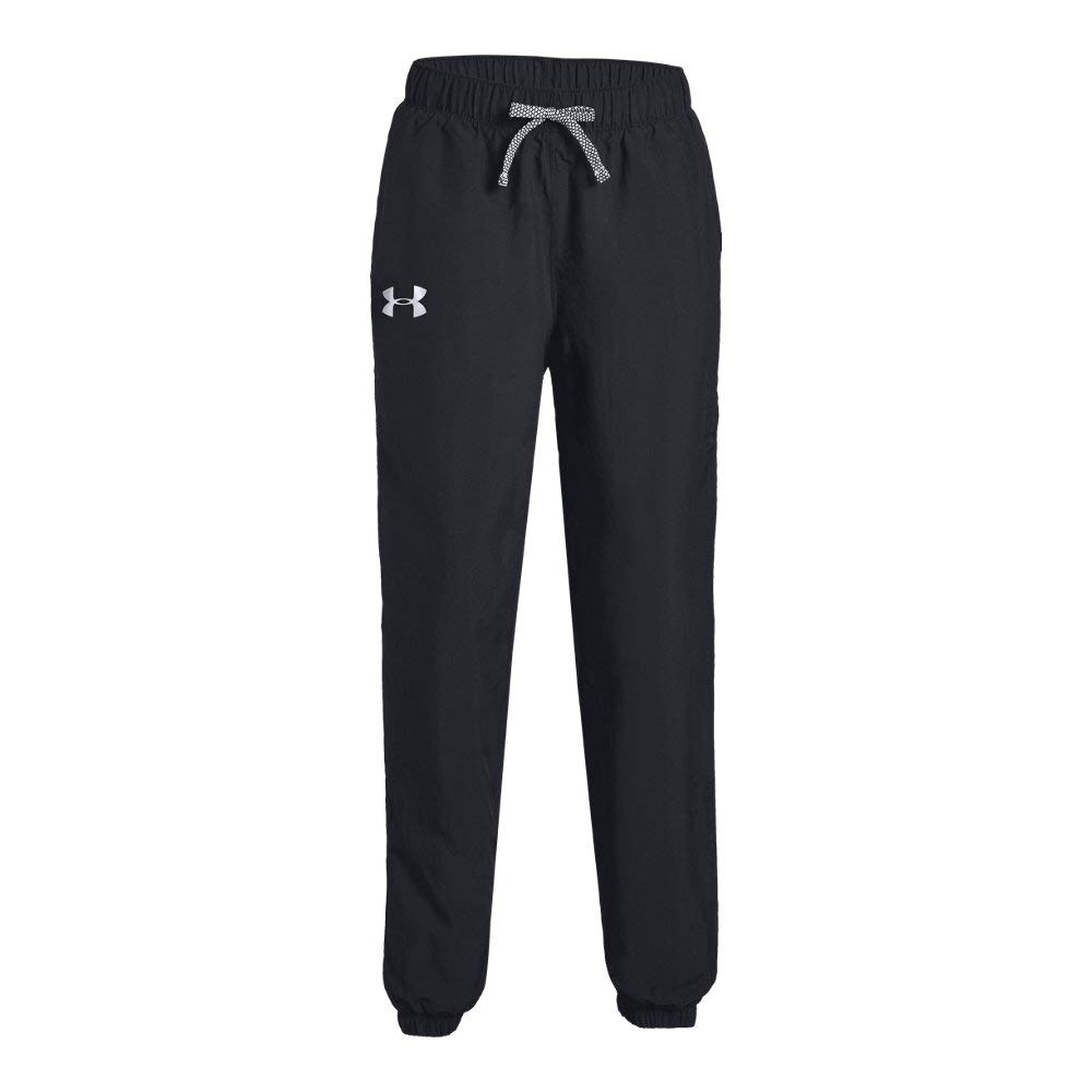 Under Armour Girls Phenom Pants, Black (001)/Black, Youth X-Large by Under Armour