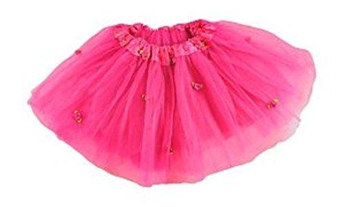 Hot Pink Rosebud Tutu in Tulle for (Rosebud Princess Costumes)