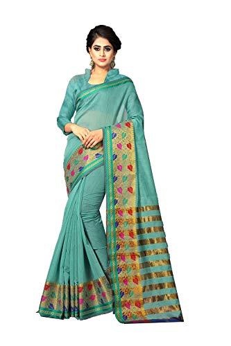 Da Facioun Indian Sarees Women Wedding Designer Party Wear Traditional Sari. Da Facioun Femmes Indiennes De Saris Concepteur De Mariage Tenues De Soirée Sari Traditionnel. Aqua Green 3 Vert D'eau 3