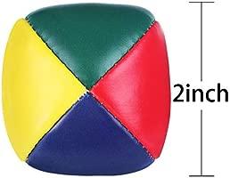 Xhuan Paquete de 6 Pelotas de Malabares para Principiantes, Mini ...