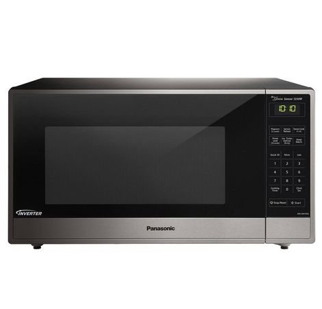 Panasonic Refurbished Countertop Microwave Oven, with Inverter Technology, 1250W 1.6 Cu. Ft. Stainless Steel (Certified Refurbished)
