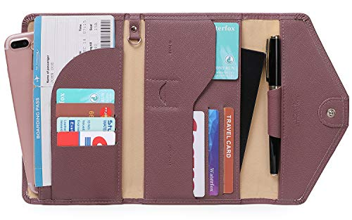 (Zoppen Multi-purpose Rfid Blocking Travel Passport Wallet (Ver.4) Tri-fold Document Organizer Holder)