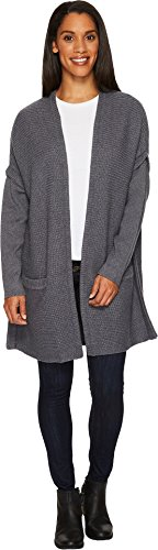 ExOfficio Women's Gabriola Cardigan Grey Heather Medium ()