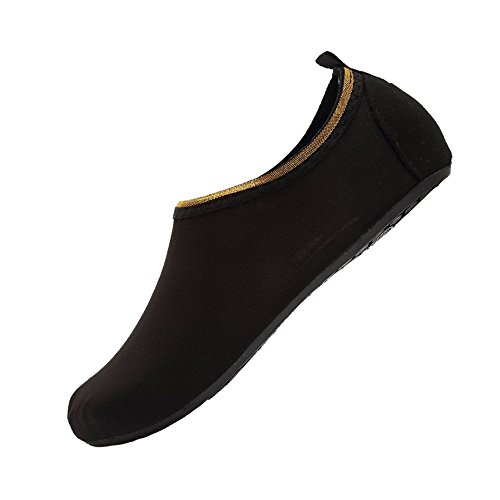 8738bc55082 YALOX Men and Women Slip-On Water Shoes Lightweight Barefoot Quick-Dry Aqua  Yoga