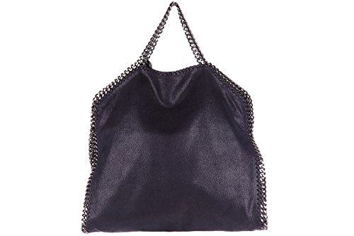 Stella Mccartney borsa donna a mano shopping nuova originale falabella shaggy de