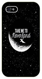 iPhone 6 Take me to neverland - black plastic case / Inspirational and motivational, Peter, Pan by SHURELOCK TM
