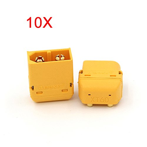 BephaMart 10X Amass XT60PW Plug Connector Male & Female for RC Battery