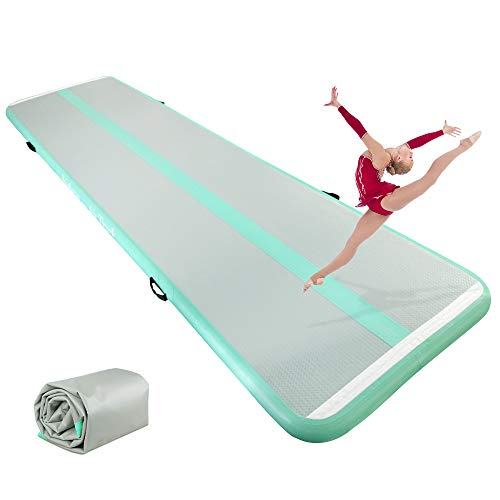 ibigbean Air Floor Home Gymnastics Training Mat for Home Use,Beach, Park and Water (Best Gymnastics Mats For Home Use)