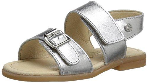 Naturino Michele SS16 S Sandal (Toddler), Argento, 22 EU(6.5 M US Toddler)
