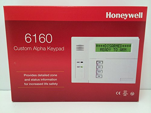 Honeywell Security 6160 Ademco Alpha Display Keypad