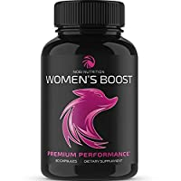 Nobi Nutrition Premium Women's Boost - Women Health Female Enhancement Pills - Hormone Balance Complex for Women - Support Increased Desire, Passion, Endurance, Energy & Mood (60 Capsules)