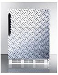Summit CT66JBIDPLADA Refrigerator, Silver