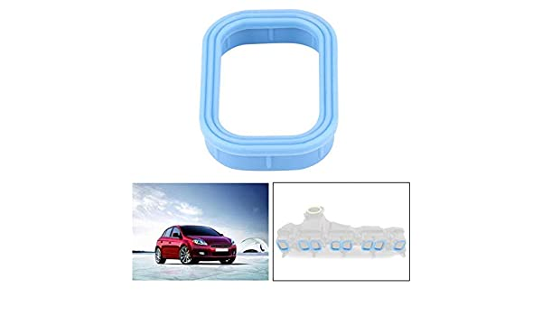 Amazon.com : Fincos for Fiat/Ford/Jaguar/Peugeot 1138392 XS7Q8565AA LR018370 8pcs Car Auto Inlet Manifold Gasket Rubber Washer Seals : Sports & Outdoors