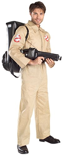 [Ghostbusters Costume - Standard - Chest Size 46] (Ghostbusters Plus Size Costumes)