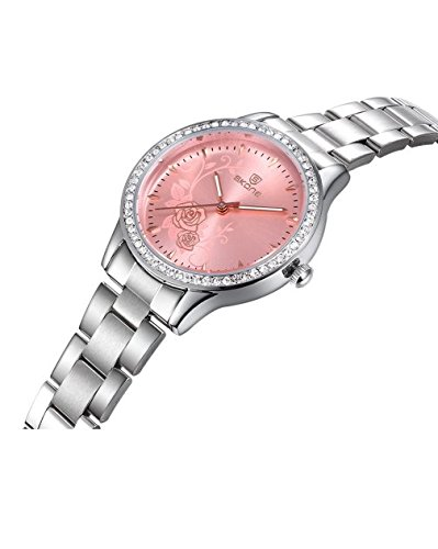 Amazon.com: Reloj De Dama Para Mujer Quartz Watch Fashion Casual Luxury Relogio Feminino: Watches