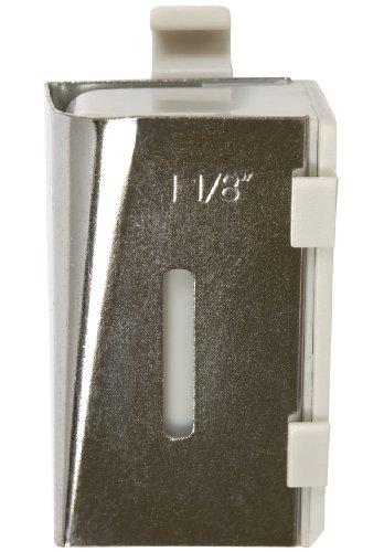 Simplicity 1-1/8-Inch Cut Strip Bias Tape Machine Tip, For Quilt Binding