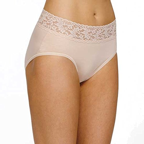 Hanky Panky Organic Cotton Brief, L, Chai