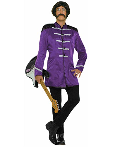 Forum Novelties 60's Revolution British Invasion Pop Star Costume, Purple, One Size -