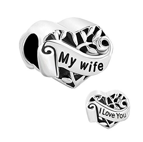 Valentines Silver European Jewelry Bracelet product image