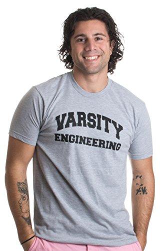 Varsity Engineering   Funny Engineer, Math, Science, Nerd Humor Unisex T-shirt