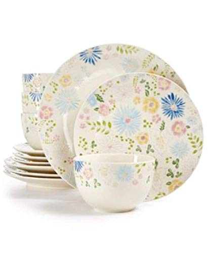 Painter's Garden 12 Piece Dinnerware Set Service for 4