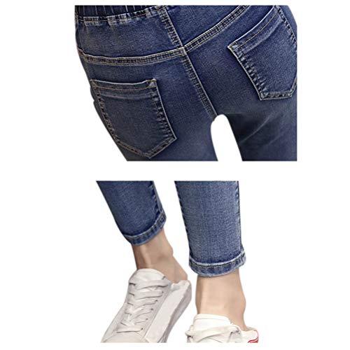 Pantalon Mom Dame lastiques de Maigre Femmes Xinvision maternit Jean Style 8 Leggings Ozw7xqq