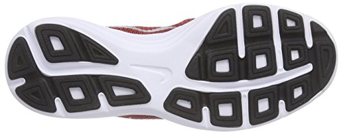 NIKE Boys' Revolution 3 Running Shoe (GS), University Red/Metallic Silver/Black, 4.5 M US Big Kid by Nike (Image #3)