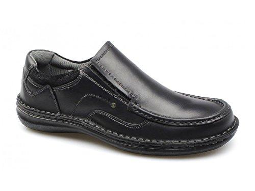 NEPTUNE Zapatillas cordones cuero de Negro hombre para Negro sin Dr Keller w86wqrgW