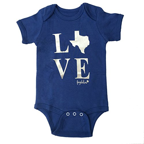 Texas Baby Bodysuit Fayebeline Boutique Quality