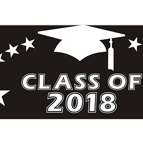 Luoem 2018 Graduation Photo Booth Props Diy Paper Picture Frame