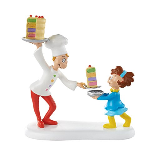 Department 56 Grinch Villages Cake for Who Cake for You Village Accessory Figurine, 2.75 inch