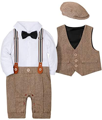 WESIDOM Outfits Gentleman Wedding Jumpsuit product image