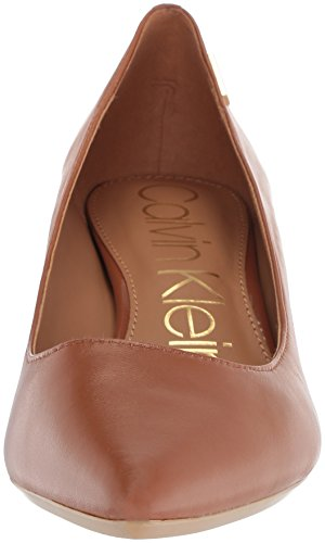 sale online shop Calvin Klein Women's Gabrianna Pump Cognac cheap best free shipping 2015 new cheap 2015 release dates cheap online J5j8mQ