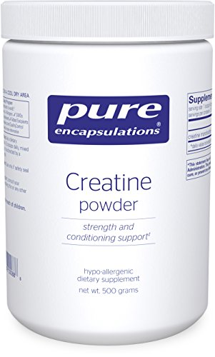 Pure Encapsulations - Creatine Powder - Hypoallergenic Strength and Conditioning Support Formula for Athletes* - 500 Grams by Pure Encapsulations