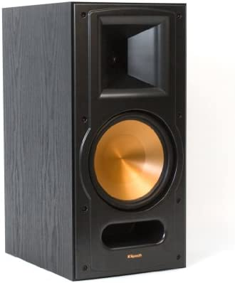 Klipsch RB-81 Reference II Two-Way Bookshelf Speaker – Black Each