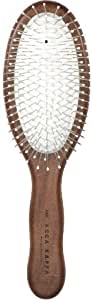 Acca Kappa Professional Pro Pneumatic Hair Brush, Oval, Chrome Pins