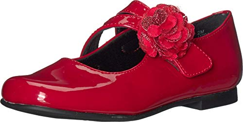 Rachel Kids Girl's Brena (Little Kid) Red Patent 11 Little Kid