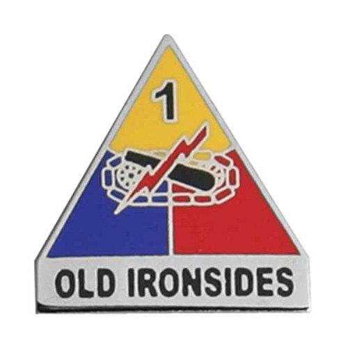 1st Armored Division Distinctive Unit Lapel Pin