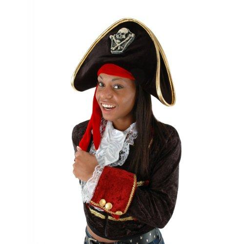 [Pirate Hat Costume Accessory] (Pirate Costumes Footwear)