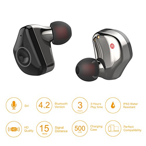 Nitin Touch Control True Wireless Earbuds With Charging Case