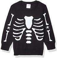 Amazon Brand - Spotted Zebra Boys Pullover Crew Sweaters