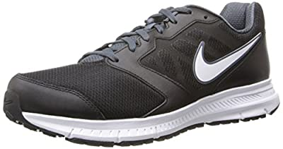 Nike Mens Downshifter 6 4E Black/White/Dk Magnet Grey Running Shoe 7 4E Men US