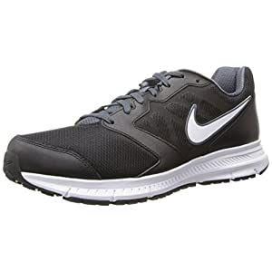 Nike Mens Donwshifter 6 Running Shoe (11.5 D(M) US, Black/White/Dark Magnet Grey )