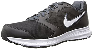 NIKE Men's Downshifter 6 Running Shoe, Black/Dk Magnet Grey/White