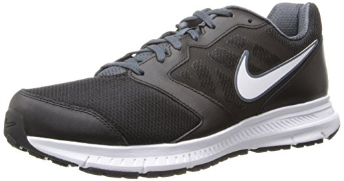 Nike+Men%27s+Downshifter+6+Black%2FWhite%2FDk+Magnet+Grey+Running+Shoe+11+Men+US