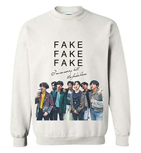 The Incredible BTS Fake Love Lyrics T-Shirt RM Jin Suga J-Hope Jimin V Jungkook