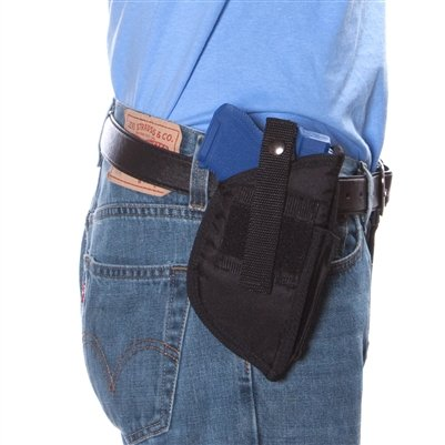 Hi Point 40 or Hi Point 45 Gun Hip Holster, New, Hunting, Law Enforcement, Security Target 302B, Comes with a free knife